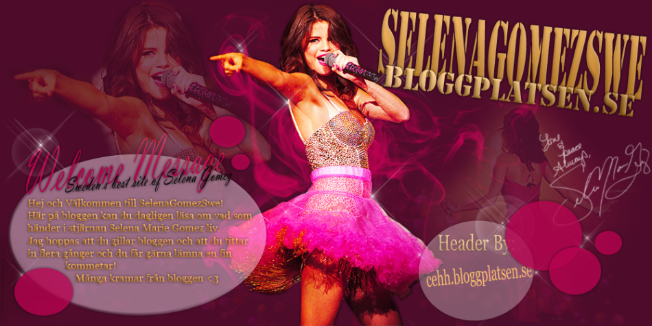 We Loves Selena Gomez